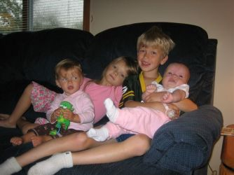 Elizabeth, Katelyn, Drew, & Maria